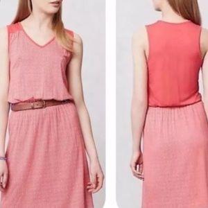 Deletta Red Janey Jersey Dress sz XS